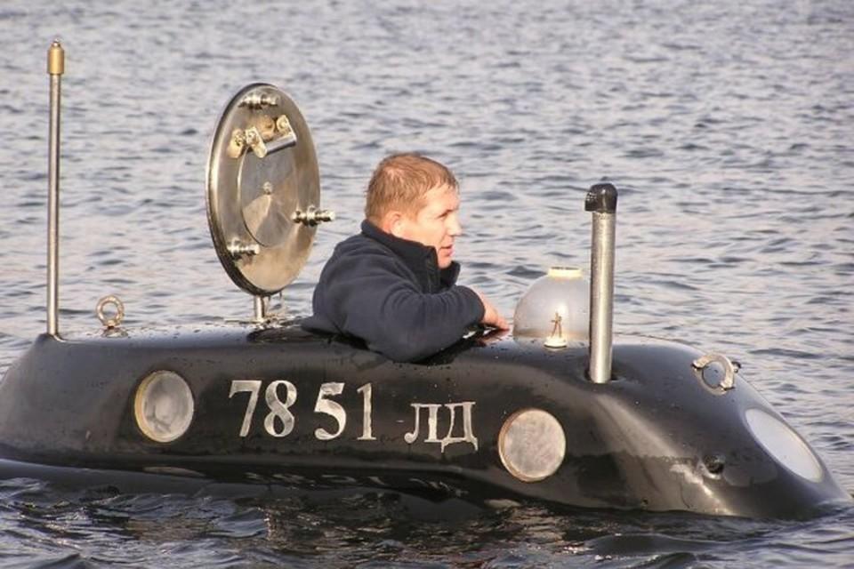 Под водой, по словам Михаила Пучкова, человек чувствует себя будто в космосе. Фото: из личного архива героя публикации