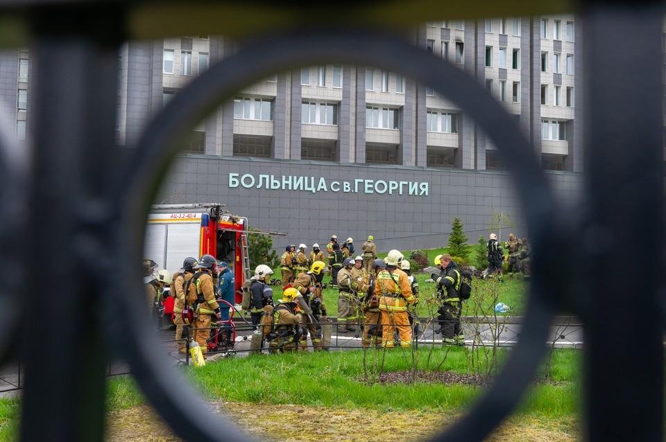 В больнице Святого Георгия погибли не пять, а шесть пациентов.