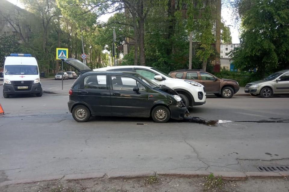 ДТП на улице Интернациональной в Липецке