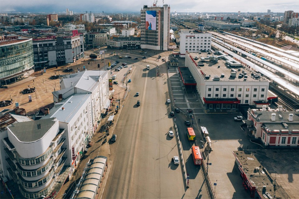 Зеленые островки, памятник и удобная навигация: как может измениться площадь возле железнодорожного вокзала в Нижнем Новгороде. ФОТО: ИРГСНО
