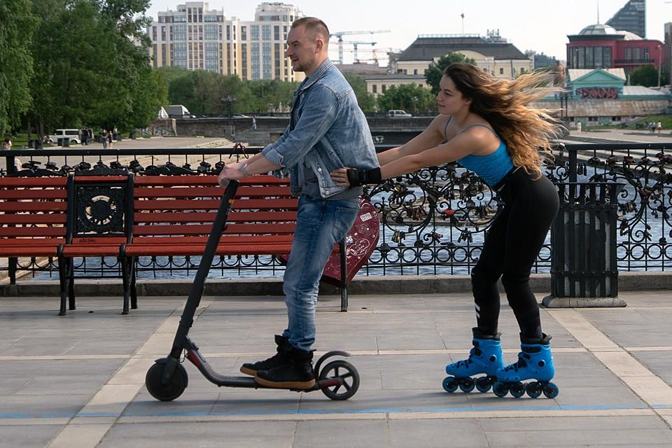 На улицу с собой можно брать велосипеды, самокаты, ролики, скейтборды