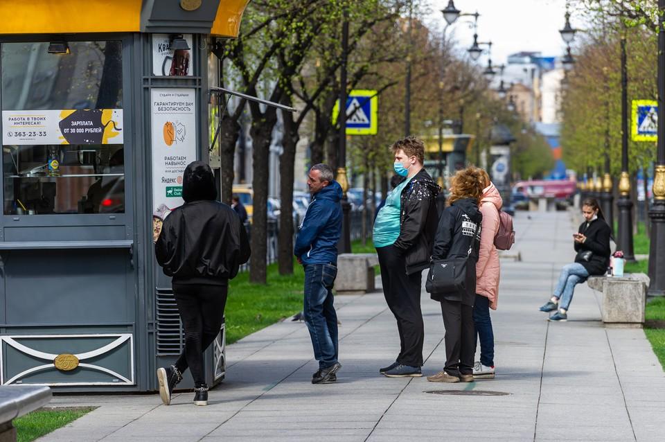 В Петербурге коронавирусом заболели уже больше 15,5 тысяч человек.