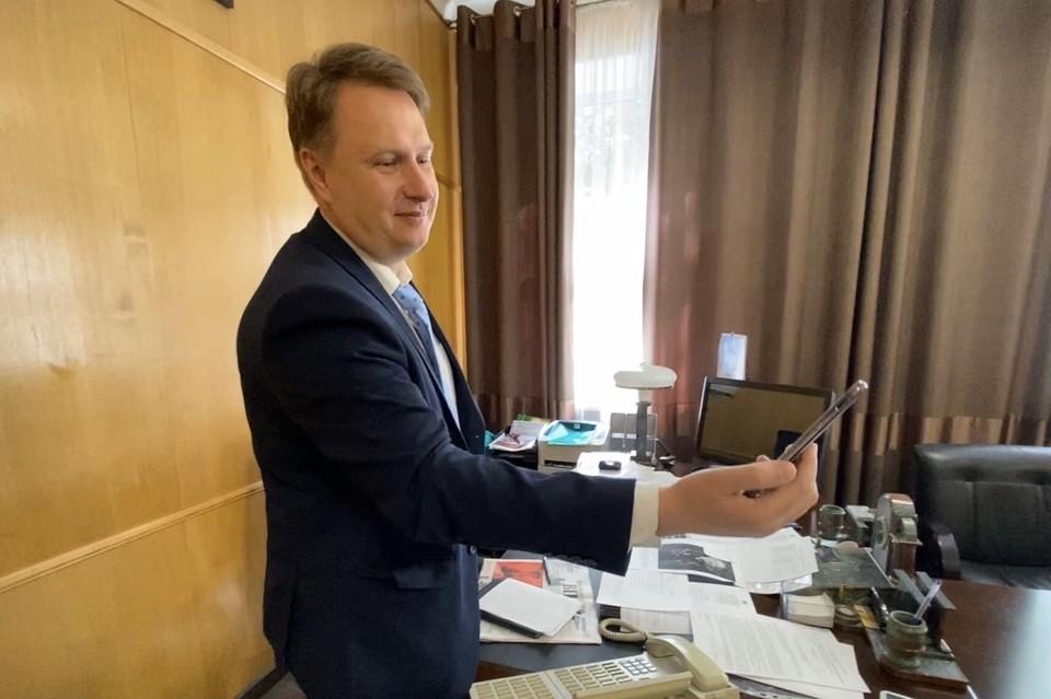 Мэр Озерска будет работать удаленно