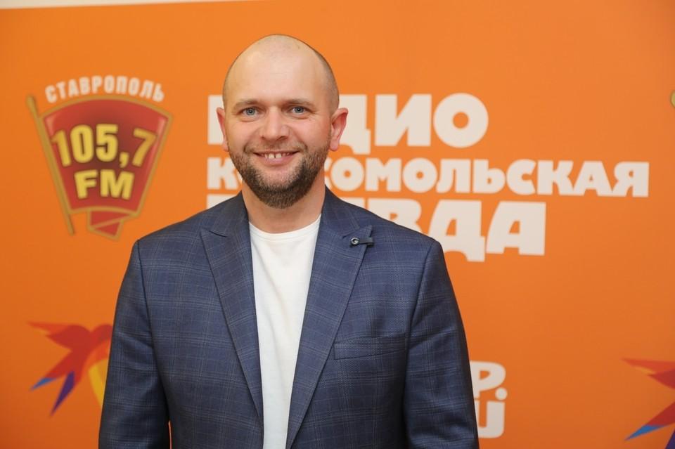 Доцент кафедры журналистики СКФУ Андрей Горбачев