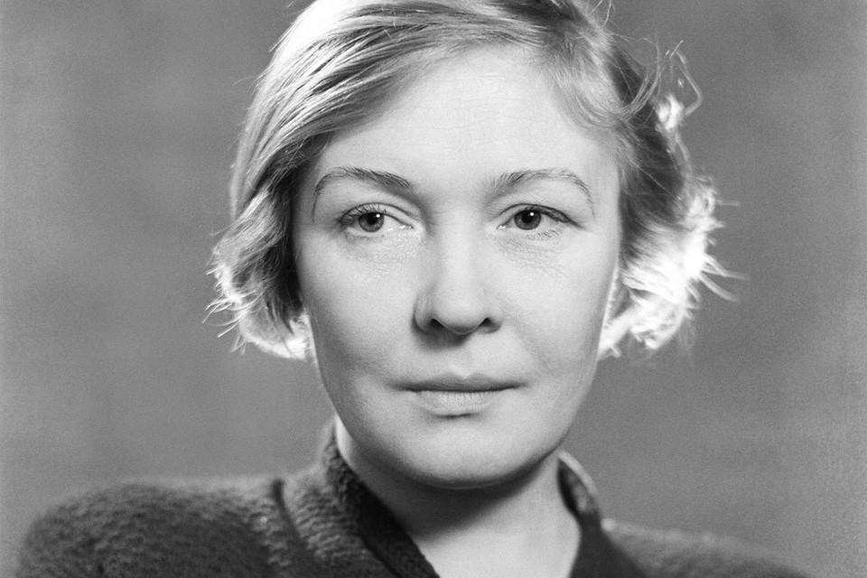 Поэтесса Ольга Берггольц, 1951 г. Фото Н.Караваев/ТАСС