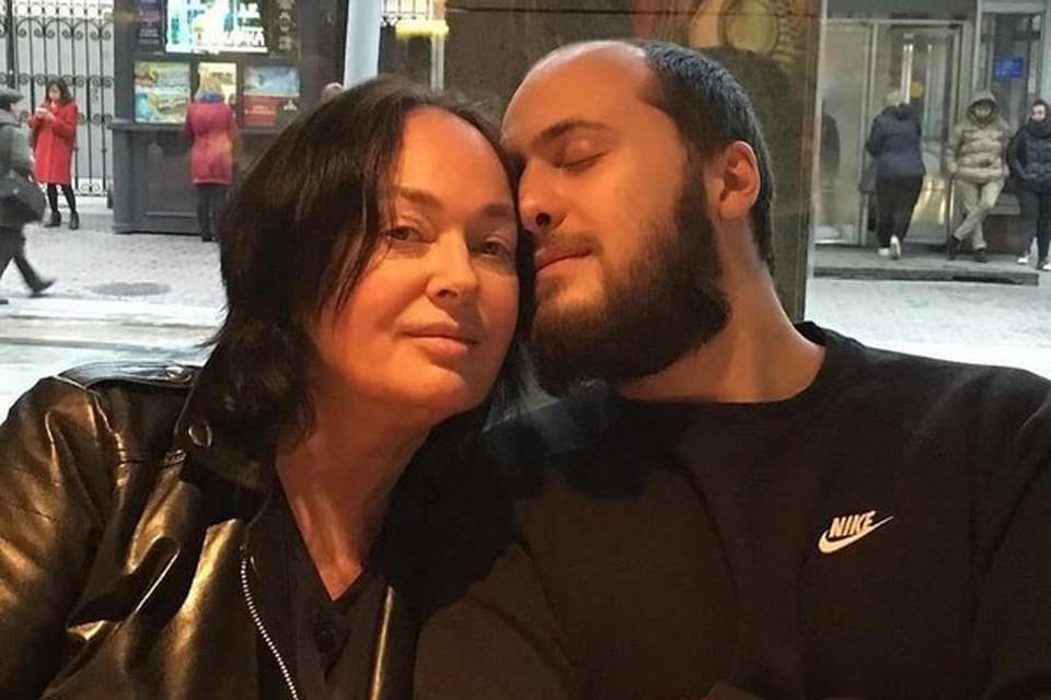 Лариса Гузеева с сыном Георгием. Фото: Инстаграм.