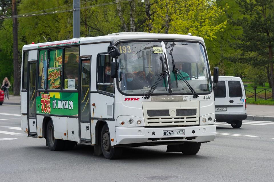 В Петербурге планируют отменить 39 автобусных маршруток