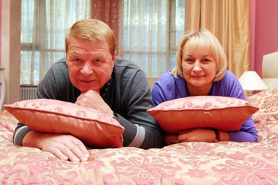 Михаил Кокшенов с супругой