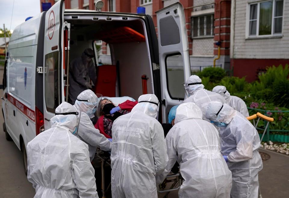 В Москве продолжают выявлять зараженных коронавирусом