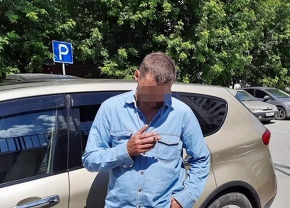 В Тюмени пьяный автолюбитель пытался «договориться» с сотрудниками ГИБДД. Фото - ГИБДД Тюменской области.