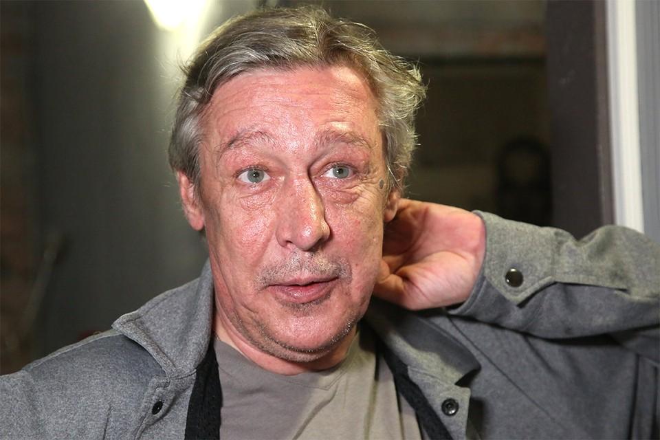 Актер Михаил Ефремов.