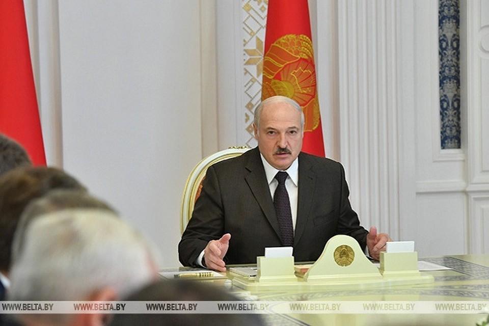 Президент заявил, что фокус всех политических интересов в настоящий момент сконцентрирован на Беларуси. Фото: belta.by.