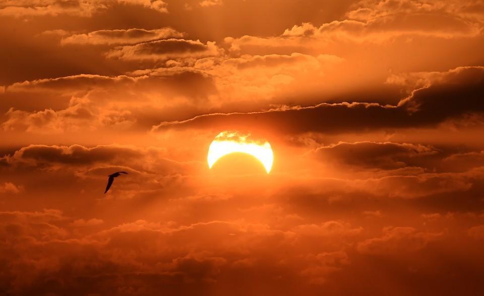 Солнечное затмение 21 июня 2020 года: прямая онлайн-трансляция