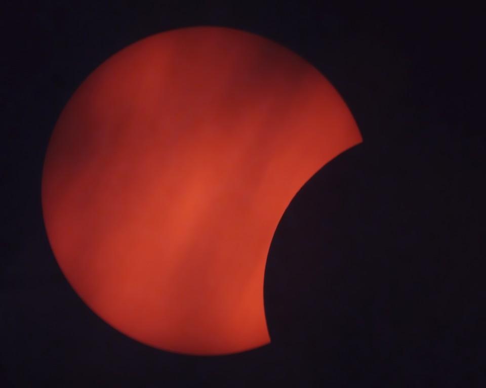 Солнечное затмение ФОТО: Владимир Крупко