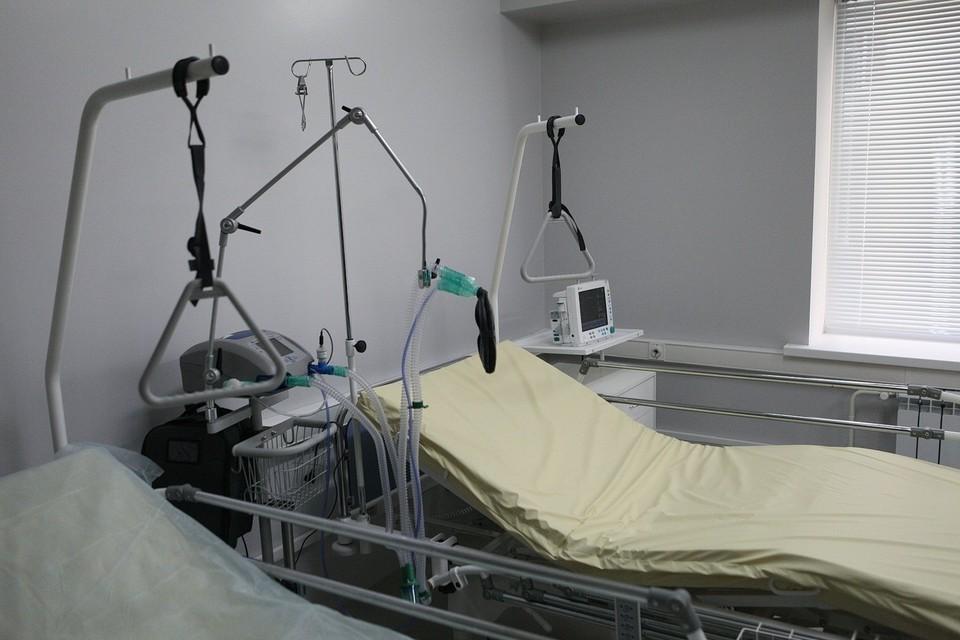 Больничная палата для пациентов с COVID-19