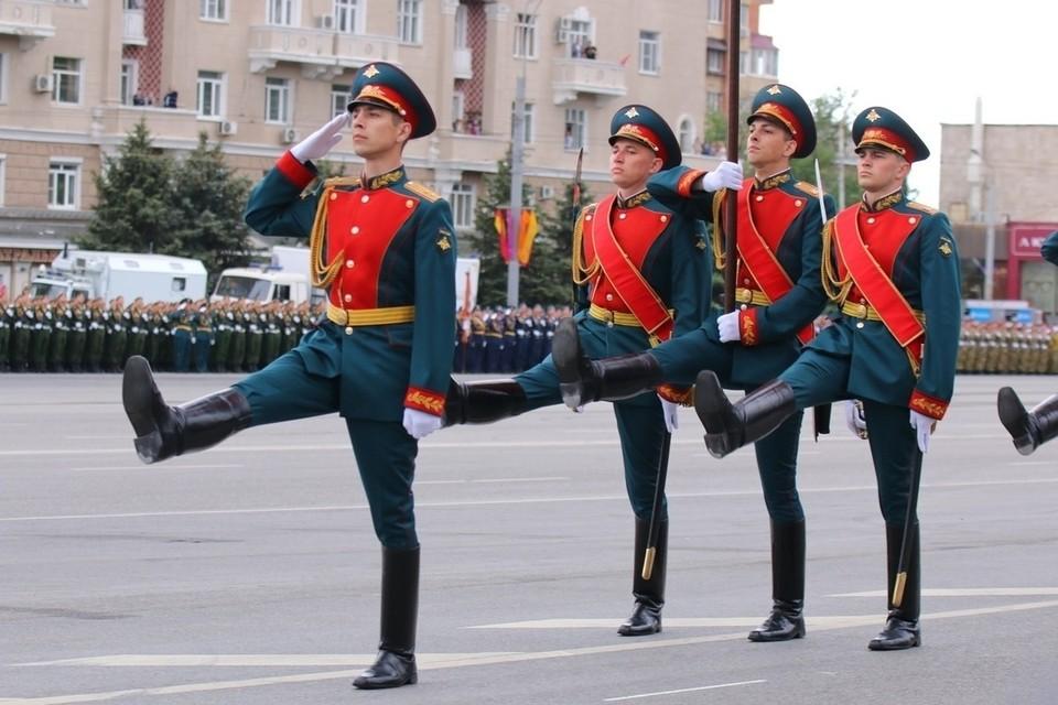 Всего на территории Южного военного округа будет проведено 10 военных парадов