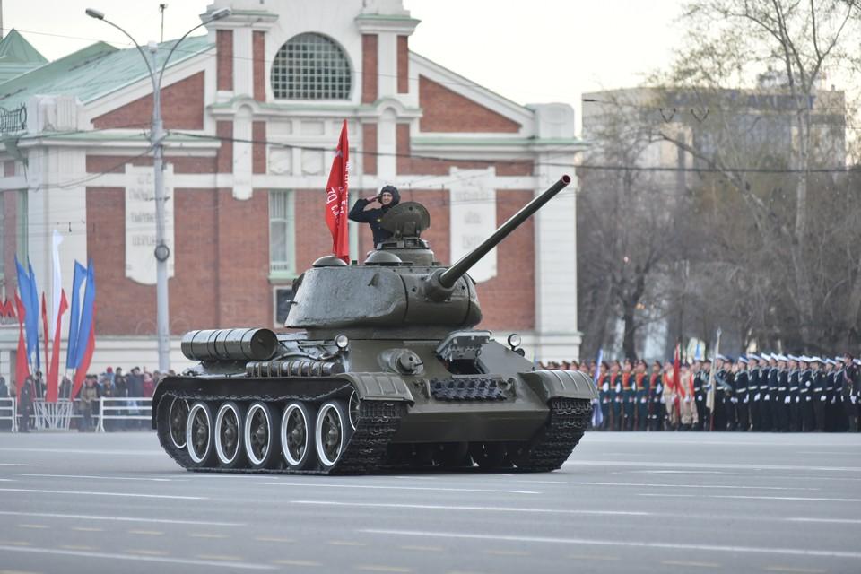 Парад Победы начнется в 10.00.