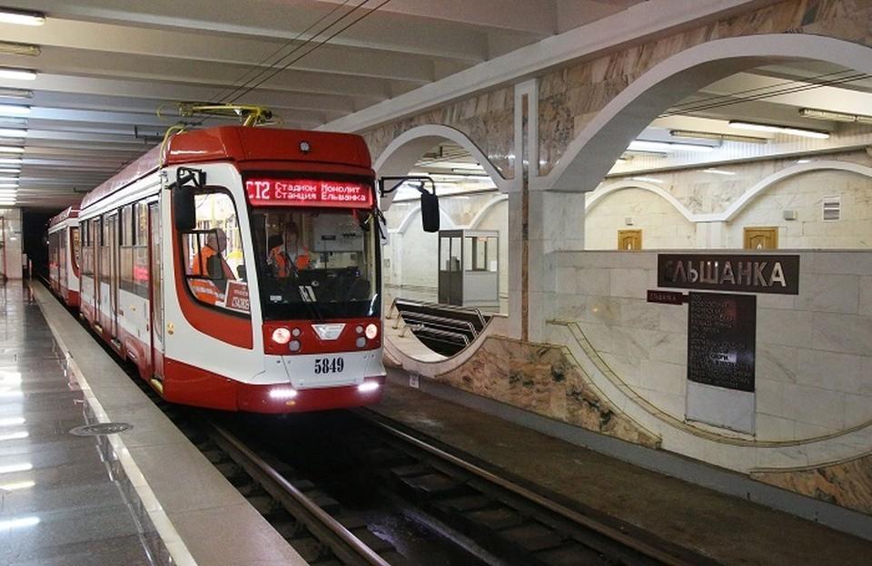 Скоростную ветку трамвая намерены полностью модернизировать.