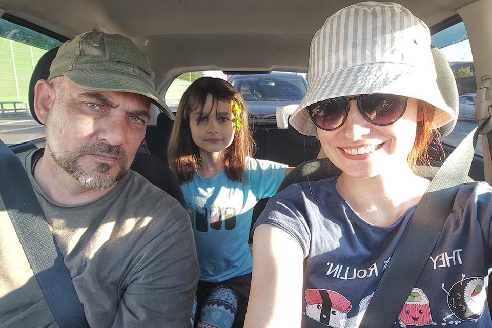 """Спецкор """"КП"""" Дмитрий Стешин с семьей отправился на машине в Крым."""