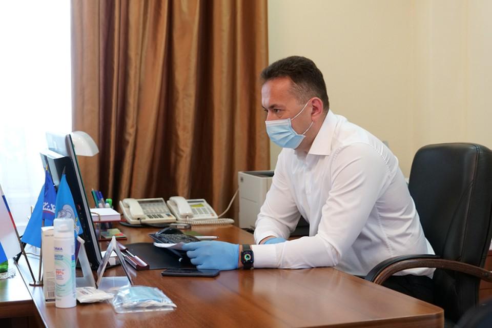 В Новом Уренгое прошло заседание оперштаба по борьбе с коронавирусом Фото: yanao.ru