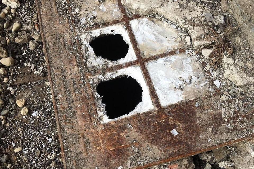 Окна Люксфера нашли под слоем асфальта
