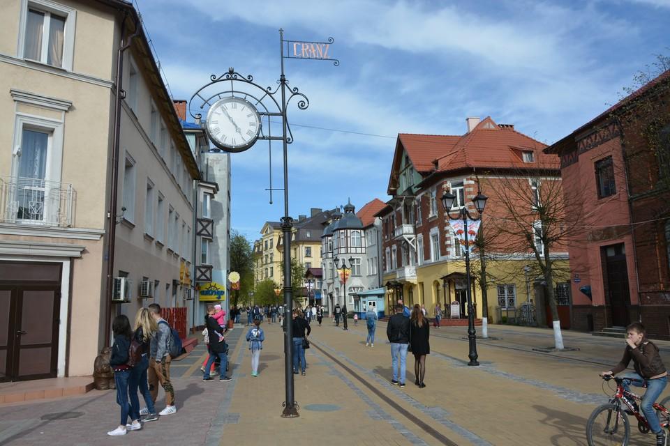 Нападение произошло в самом центре Зеленоградска.