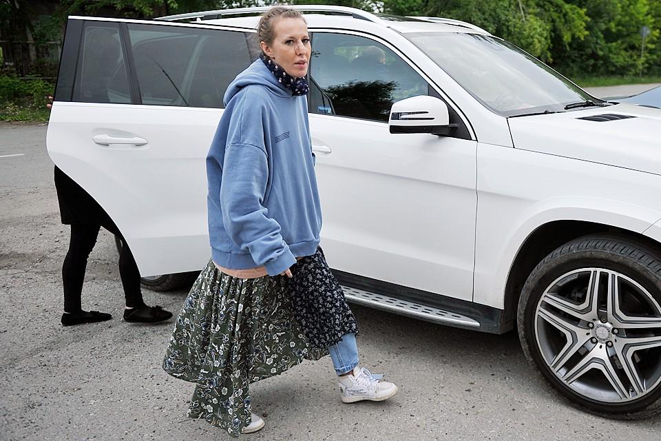 На Ксению Собчак напали в Среднеуральском женском монастыре