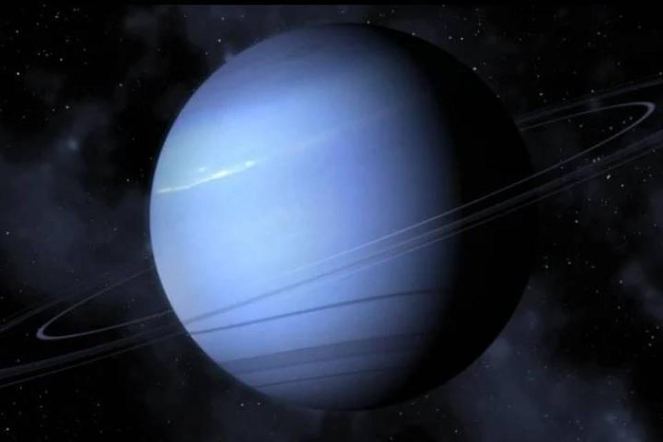 Нептун - одна из планет, у которой небо в алмазах.