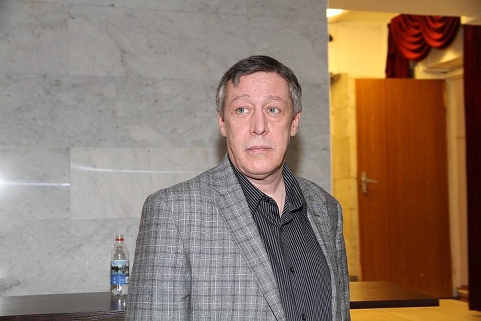 Коллеги Михаила Ефремова говорят, что на фоне стресса у него обострились хронические болячки