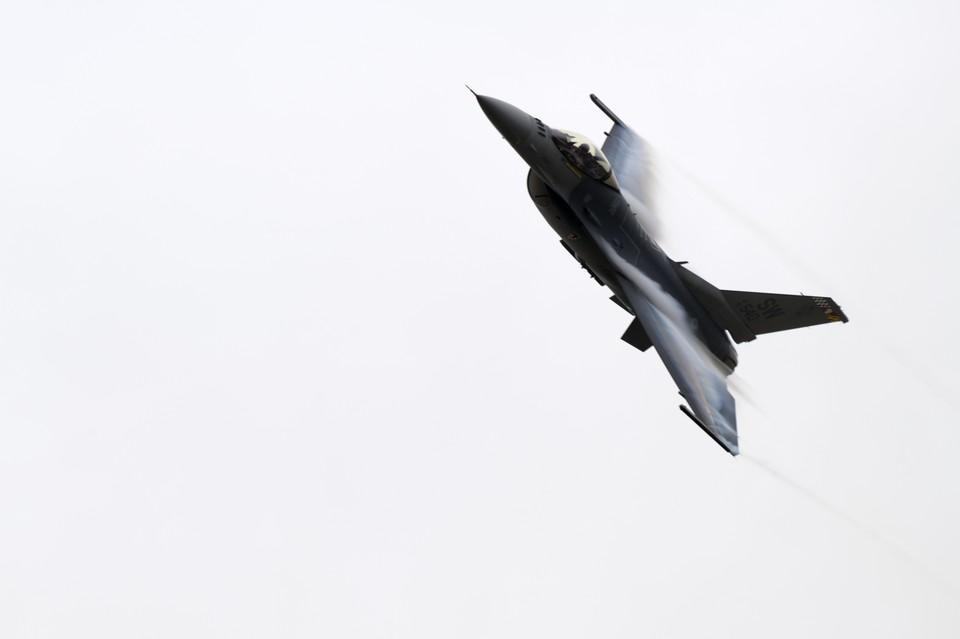 Истребитель F-16CM ВВС США разбился в Южной Каролине