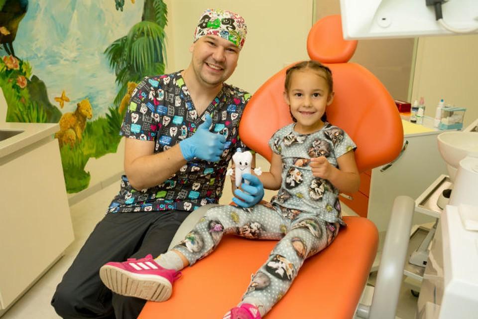 """Детская стоматология в Иркутске:лечим зубы с улыбкой! Фото: стоматология """"Филигрань""""."""