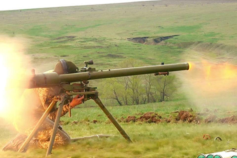 Украинские боевики нанесли артудар по окрестностям Южнодонбасского водовода. Фото: ТК «Звезда»