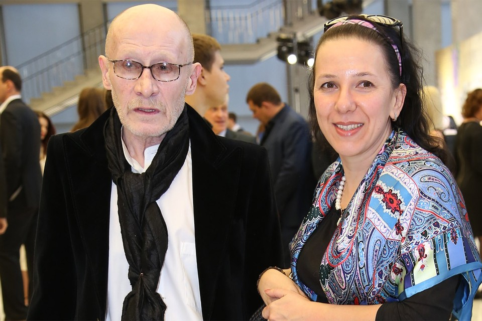Виктор Проскурин c супругой Ириной в 2015 году.