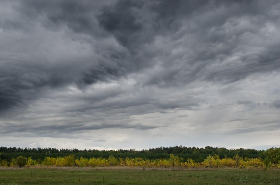 Похолодание принесло и постоянные дожди.