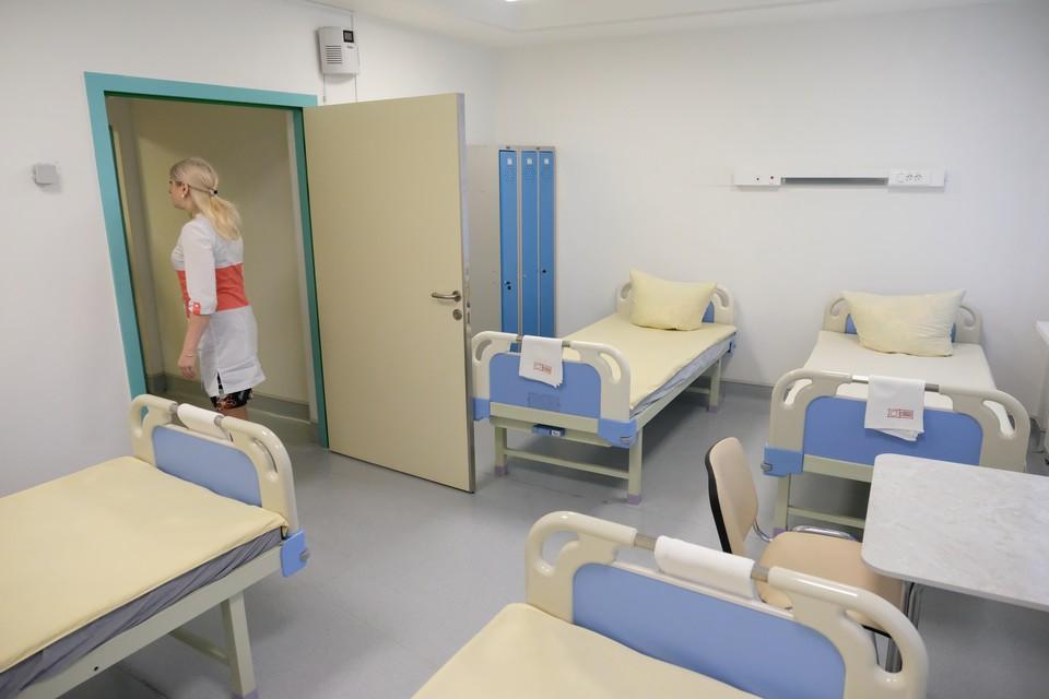 В отданных под коронавирус больницах освободилось больше трех тысяч коек.