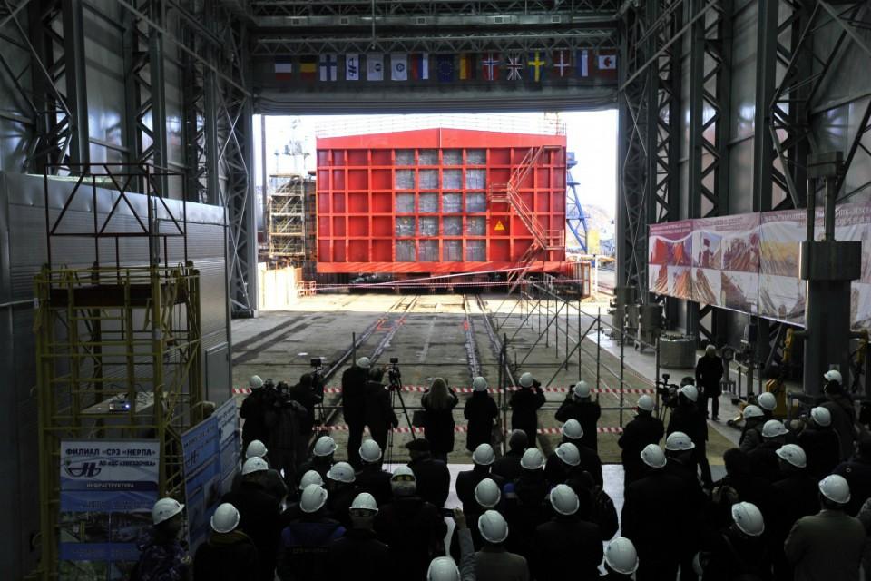Для выгрузки ядерного топлива создали специально подготовленное укрытие. Фото: правительство МО