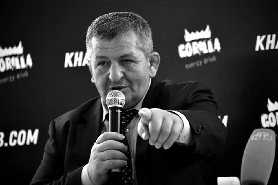 Абдулманап Нурмагомедов скончался 3 июля 2020 года