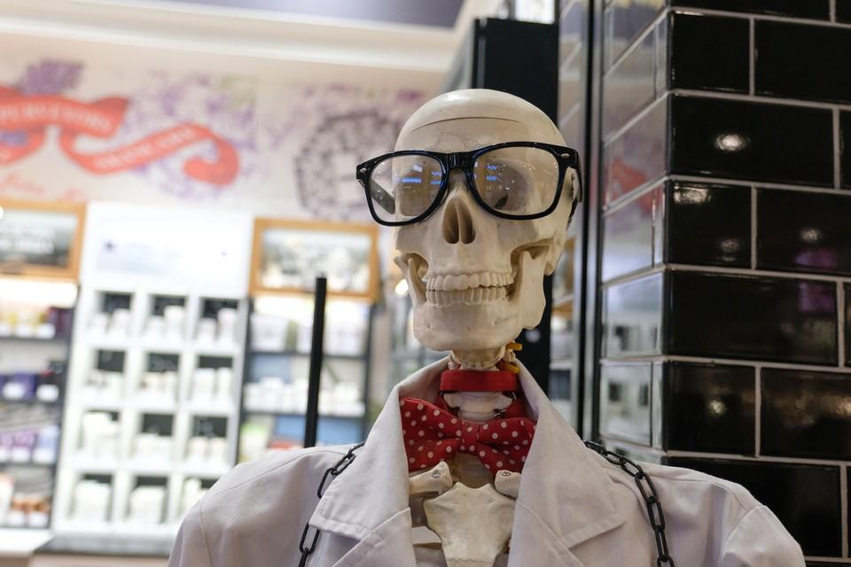 В Комарово нашли скелет мужчины в пальто.