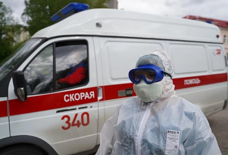 В России выявили 6 635 новых случаев заражения коронавирусом