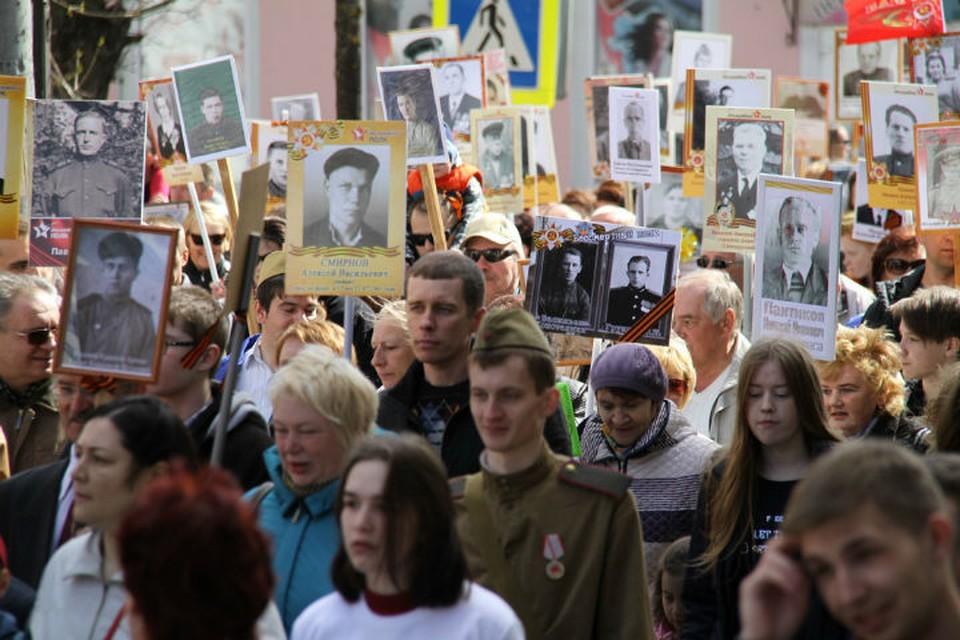Торжественная колонна пройдет по улице Крестовой к мемориалу «Огонь славы»
