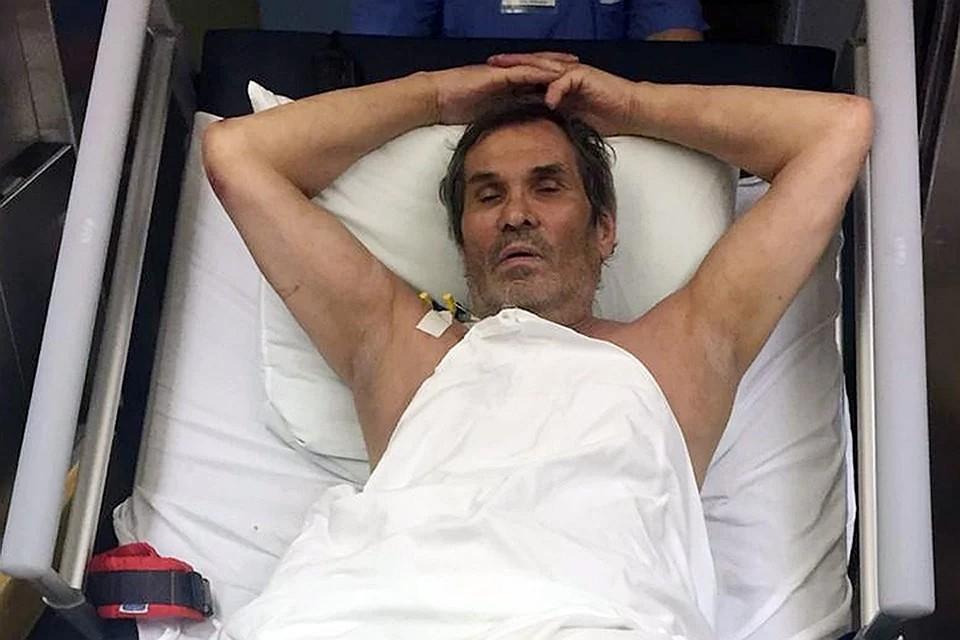 """Совсем недавно Бари Алибасов уже оказывался на больничной койке - когда выпил жидкость """"Крот"""". Фото: Инстаграм."""