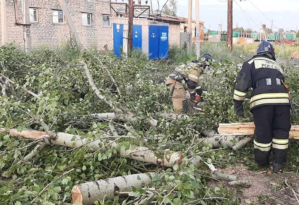Ураган пронесся по югу Нижегородской области: 3,5 тысячи жителей Первомайска остались без света