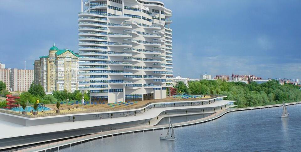 Примерно так будет выглядеть отель, судя по фото проекта. ФОТО: Омскрегион