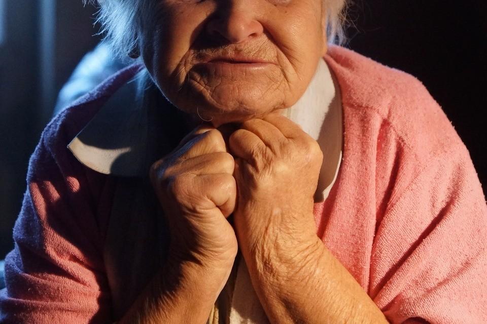 Бабуля в больнице. Иллюстративное фото
