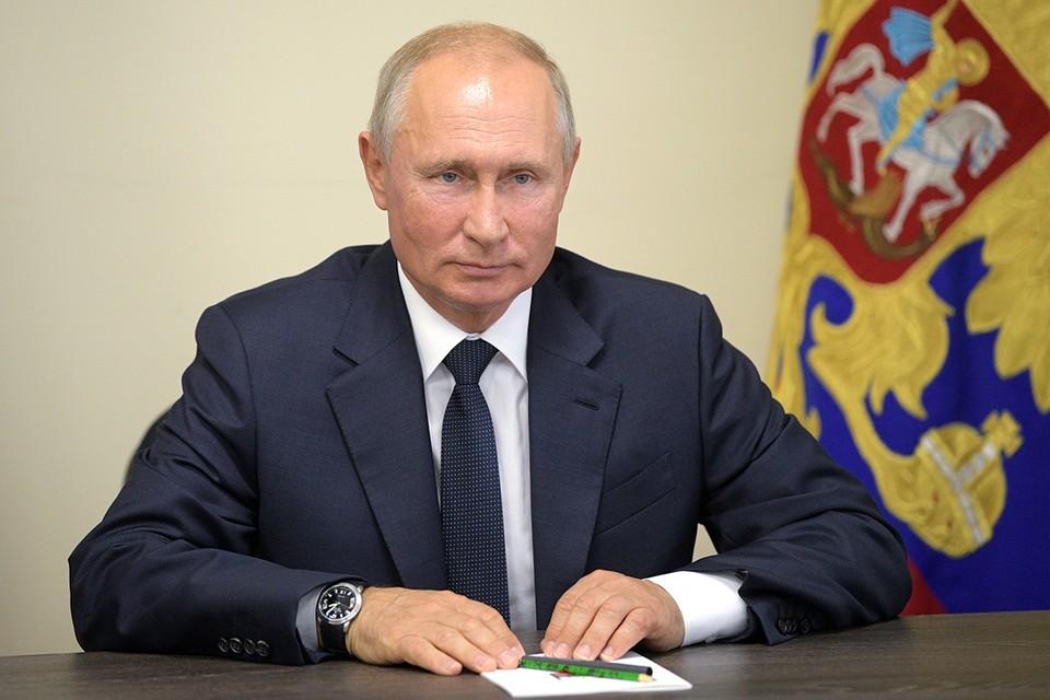Владимир Путин в режиме видеоконференции провёл рабочую встречу с Дегтярёвым, предложив ему новую должность. Фото: Алексей Дружинин/ТАСС