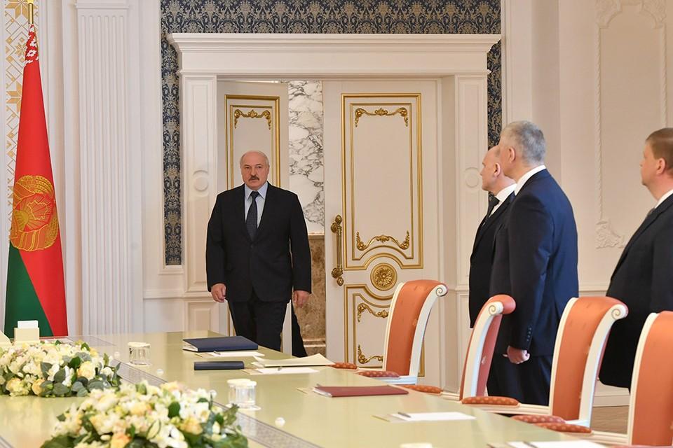 Президент назвал новых руководителей в правление Нацбанка и еще ряд глав дипмиссий. Фото: БелТА