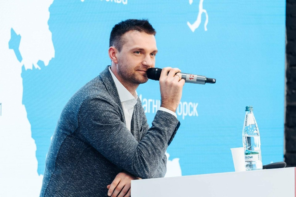 Предприниматель Алексей Южаков. Фото: пресс-служба Promobot
