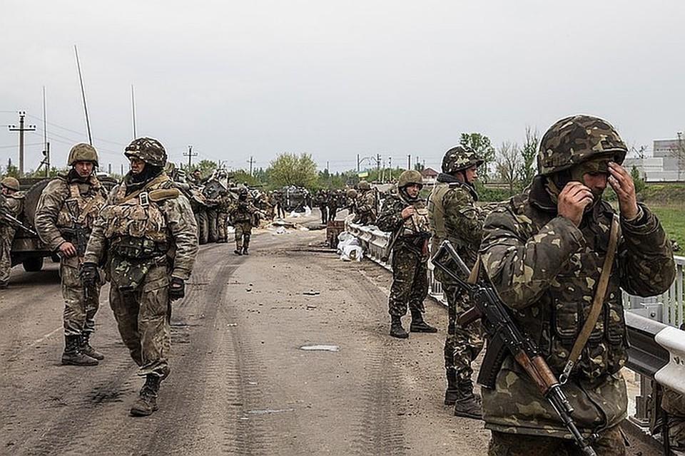 На Украине выдали приказ о прекращении огня в Донбассе