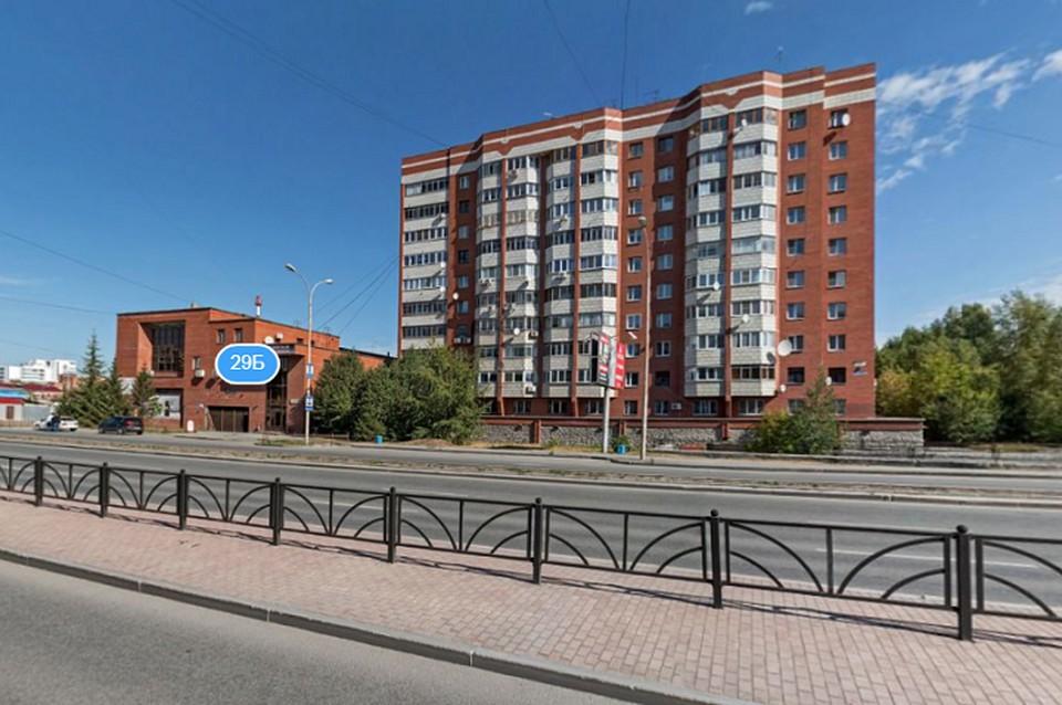 Дом, в котором произошло ЧП. Фото: Яндекс.Панорамы