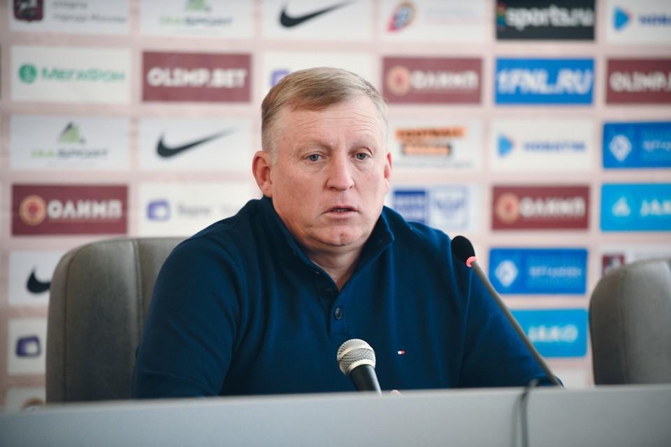 Осинькин четыре года работал в «Чертаново», с которым вышел в ФНЛ и занял там третье место. Фото: ФК «Чертаново» (Москва).